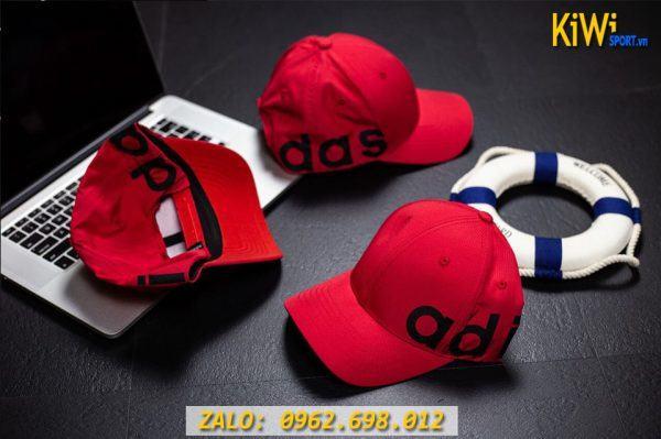 Xưởng Sỉ Nón Thể Thao Adidas Màu Đỏ Hàng VNXK Rất Đẹp