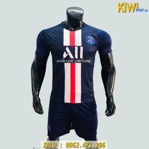 Áo Bóng Đá CLB PSG 2019 - 2020 Màu Xanh Đen Thi Đấu Sân Nhà