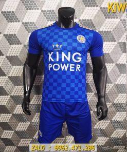 Áo Bóng Đá CLB Leicester City 2019 - 2020 Sân Nhà Màu Xanh
