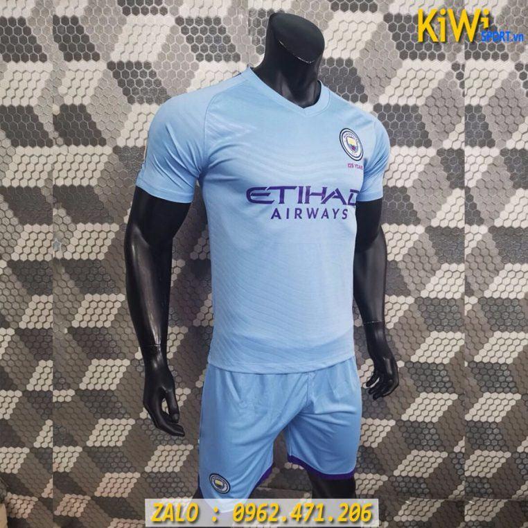 Áo Bóng Đá CLB Manchester City 2019 - 2020 Màu Xanh Biển ( Sân Nhà )