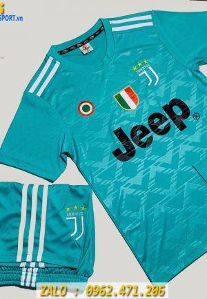 Áo Bóng Đá Trẻ Em 2019 - 2020 CLB Juventus Màu Xanh