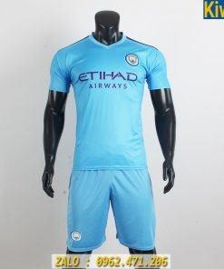 Áo Đấu CLB Manchester City 2019 - 2020 Màu Xanh Biển Sân Nhà