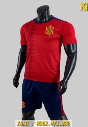 Mẫu Áo Bóng Đá Tuyển Tây Ban Nha 2019 - 2020 Sân Nhà Màu Đỏ