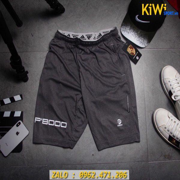 Mẫu Quần Tập Gym Nam Adidas P'8000 Màu Xám Rất Đẹp