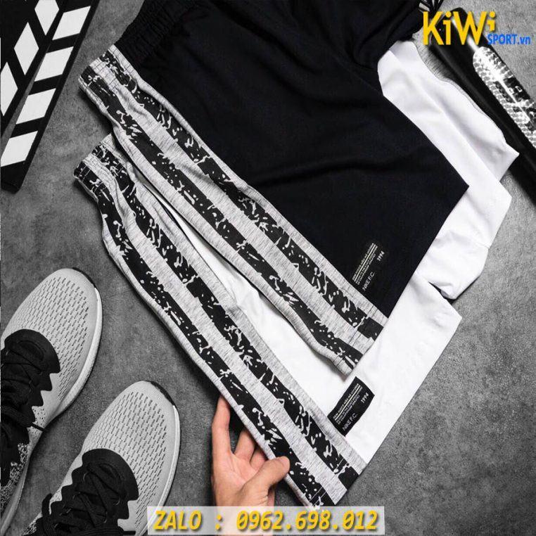 Mẫu Quần Thể Thao Nam Nike Phối Hông Thun Co Giãn Rất Đẹp
