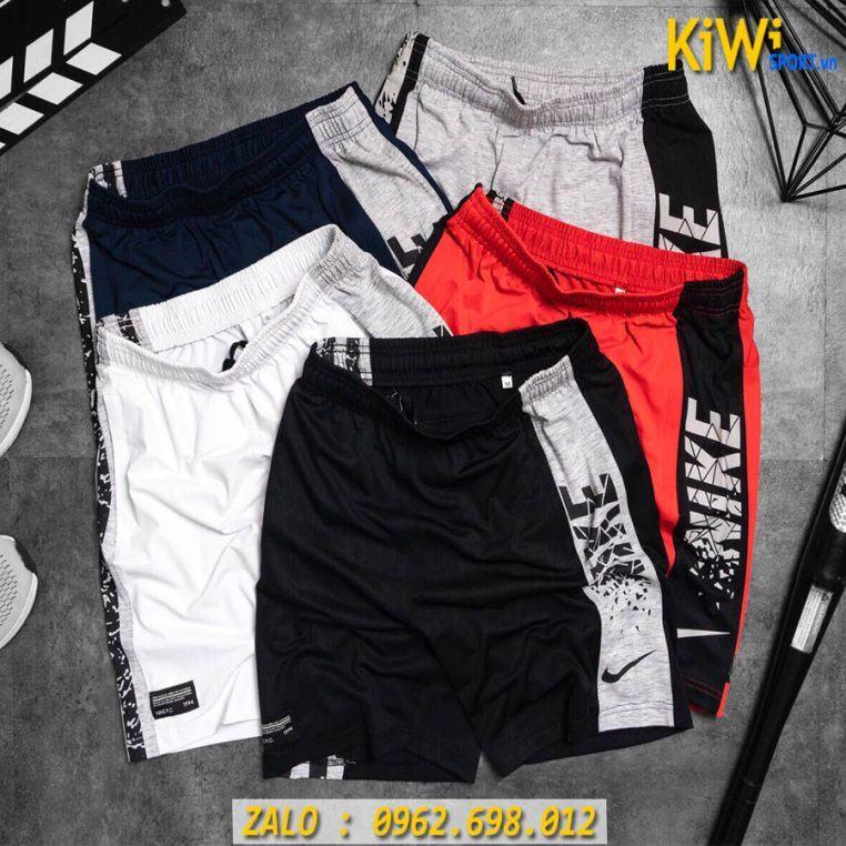 Quần Thể Thao Nam Nike Phối Hông Thun Cao Cấp
