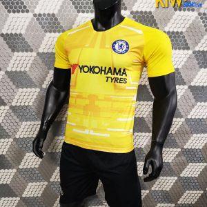 Shop Bán Áo Bóng Đá CLB Chelsea 2019 - 2020 Màu Vàng Sân Khách