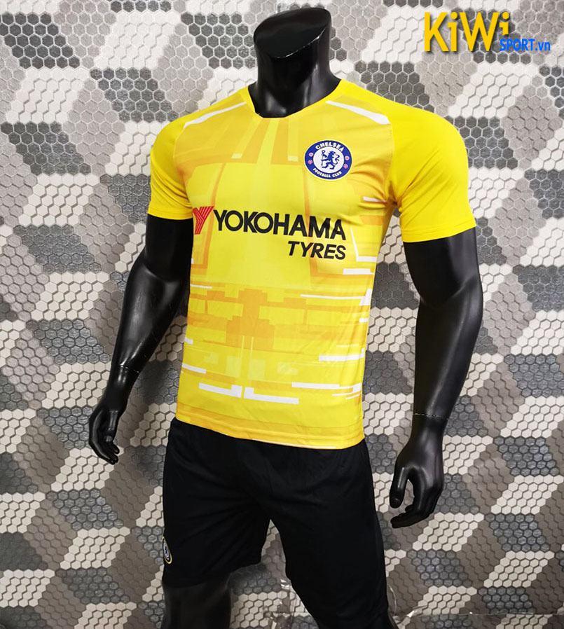 Áo Bóng Đá CLB Chelsea 2019 - 2020 Màu Vàng Sân Khách
