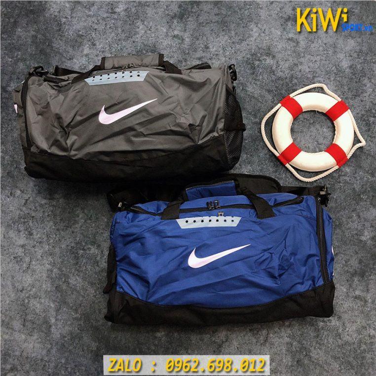 Túi Trong Nike Chất Dù Siêu Bền Màu Xám và Xanh Bích Rất Đẹp