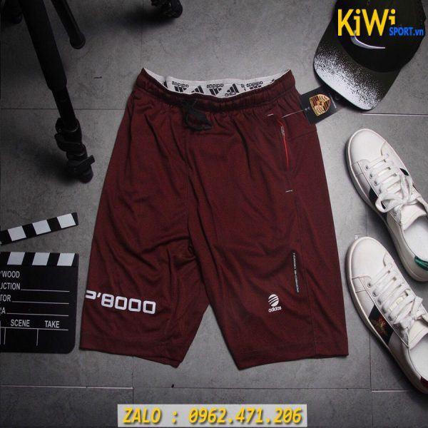 Shop Bán Quần Tập Gym Nam Adidas P'8000 Màu Nâu Đỏ Độc Đáo