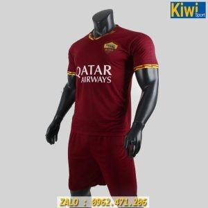 Áo Bóng Đá CLB AS Roma 2019 - 2020 Màu Đỏ Đô Sân Nhà Rất Đẹp