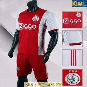 Áo Ajax 2019 - 2020 Sân Nhà Sọc Trắng Đỏ
