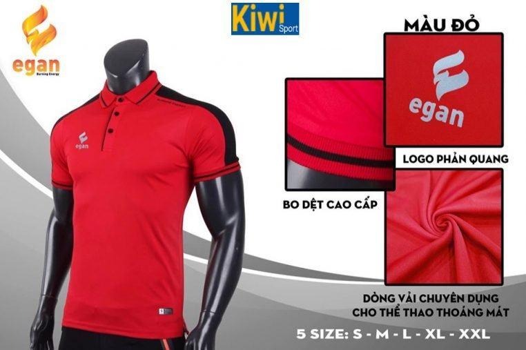 Áo Thun Polo Egan Màu Đỏ Chất Đẹp