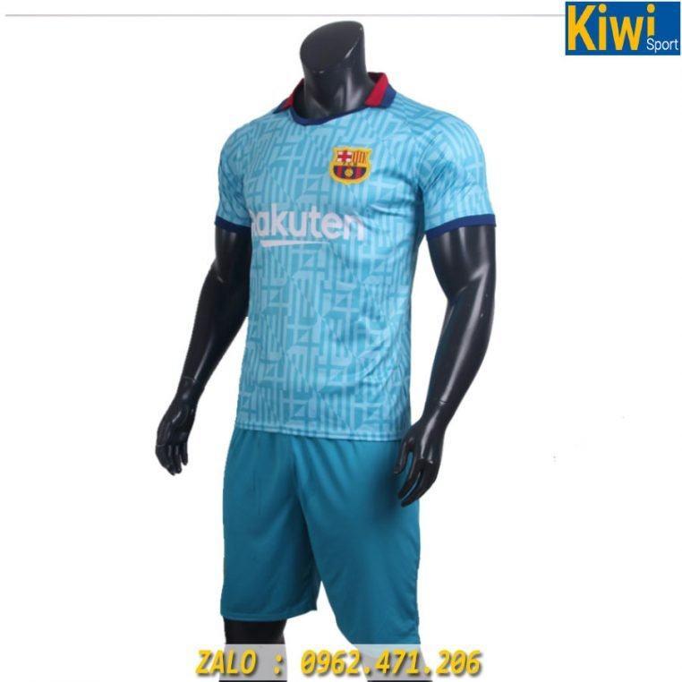 Áo Đấu CLB Barcelona 2019 - 2020 Màu Xanh Sân Khách