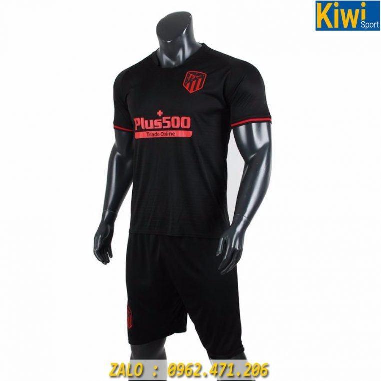 Áo Bóng Đá CLB Atletico Madrid Màu Đen 2019 - 2020