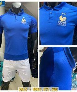 Áo Bóng Đá Đội Tuyển Pháp 2019 - 2020 Màu Xanh Sân Nhà