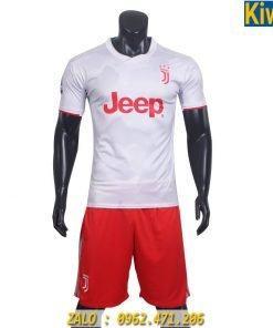 Áo Bóng Đá CLB Juventus 2019 - 2020 Màu Trắng Sân Khách