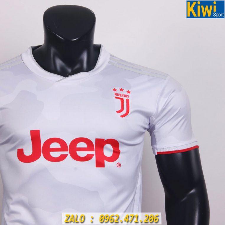 Đồ Đá Banh Juventus 2019 - 2020 Sân Khách Màu Trắng