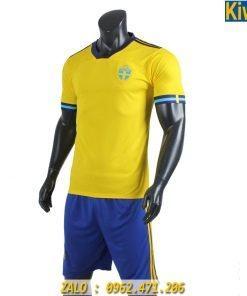 Áo Bóng Đá Đội Tuyển Thụy Điển 2019 - 2020 Màu Vàng