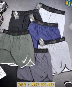 Quần Shot Gym Nam Nike Lưng Bảng Chất Dù Xịn