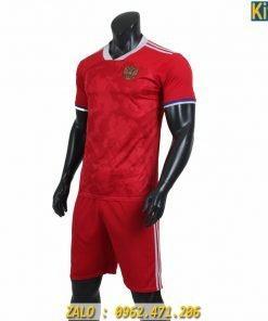 Áo Bóng Đá Tuyển Nga Thi Đấu Euro 2020 Màu Đỏ