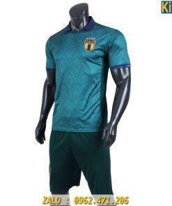 Áo Bóng Đá Tuyển Ý 2019 - 2020 Màu Xanh Lính