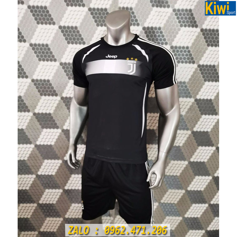 áo Bóng đá Clb Juventus 2019 2020 Màu đen Rất đẹp