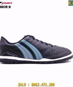 Giày Đá Banh Pan Vigor 9 Đế TF Màu Đen Đá Cỏ Nhân Tạo