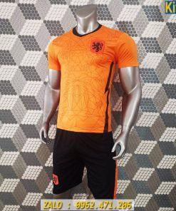 Áo Đấu Tuyển Hà Lan Euro 2020 Màu Cam Rất Đẹp