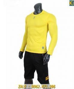 Áo Lót Body Dài Tay Egan Màu Vàng Giữ Nhiệt Cực Tốt