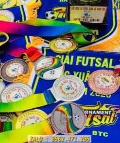 Kỷ Niệm Chương - Cờ Lưu Niệm - Huy Chương Giải Futsal U14