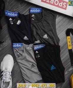 Áo Ba Lỗ Thể Thao Nam Adidas 2020 Chất Thun Siêu Mát