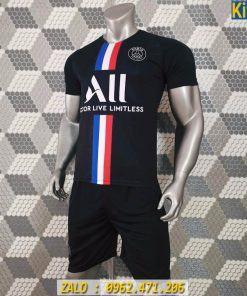Áo Bóng Đá CLB PSG 2020 Màu Đen Rất Đẹp