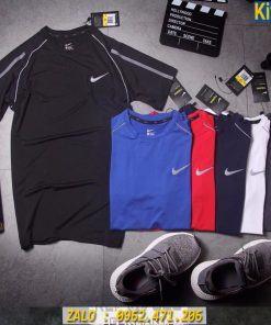 Áo Tập Gym Nam Nike Ép Phản Quang 2020 Thun Đẹp