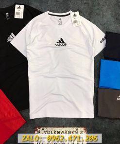 Áo Tập Gym Nam Adidas Neo In Chìm Thun Thể Thao
