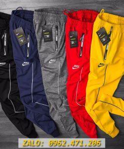 Quần Jogger Nike Ống Bó Túi Ép Bodding Xịn