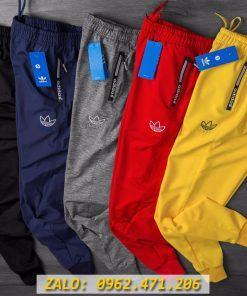 Quần Jogger Ống Bó Das Logo 3 Lá