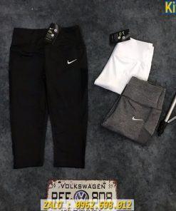 Quần Lửng Thể Thao Nữ Nike Phối Lưới