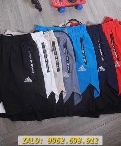 Quần Short Thể Thao Adidas 2 Lớp Dành Cho Chạy Bộ, Gym
