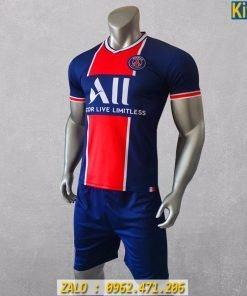 Áo Đá Banh CLB PSG Màu Xanh Đen Mới Nhất 2020