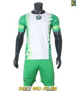 Áo Bóng Đá Tuyển Nigeria 2020 Màu Trắng Tuyệt Đẹp