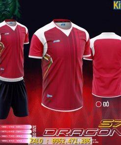 Áo Bóng Đá Dragon Màu Đỏ 2020 Tuyệt Đẹp