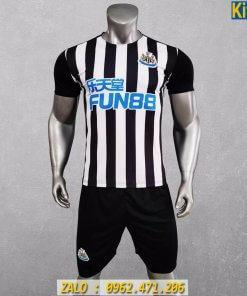 Áo Đấu CLB Newcastle 2020 - 2021 Sọc Trắng Đen