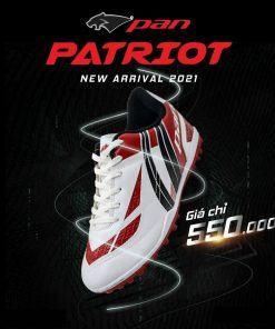 Giày Pan Patriot Màu Trắng Đế TF Hàng Thailand Cao Cấp