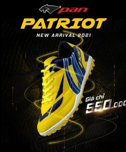 Giày Pan Patriot Màu Vàng Đế TF Hàng Thailand