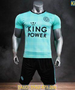 Áo Đấu CLB Leicester City Màu Xanh Ngọc 2021 Tuyệt Đẹp