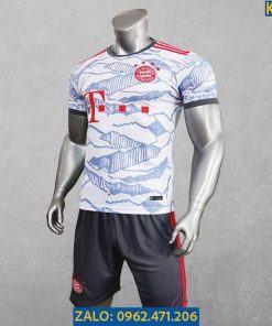 Áo Đấu Bayern Munich 2021 - 2022 Màu Trắng Sân Khách