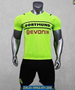 Áo Dortmund 2021 - 2022 Xanh Dạ Quang Cực Chất