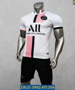 Áo Bóng Đá CLB PSG Màu Trắng Mùa 2021 - 2020 Đẹp Mê