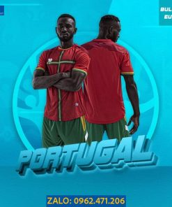 Áo Bóng Đá Euro 2021 Tuyển Bồ Đào Nha Màu Đỏ Đô